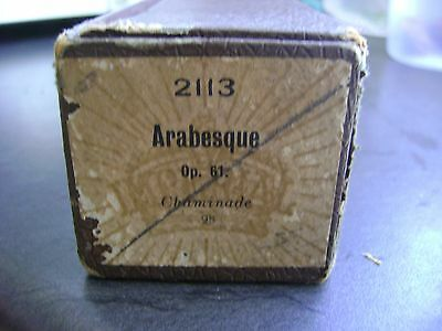 IMPERIAL 2113 ARABESQUE Op. 61 ( CHAMINADE ) PIANO ROLL