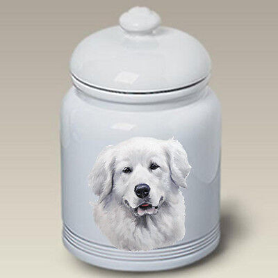 Ceramic Treat Cookie Jar - Great Pyrenees (LP) 45146