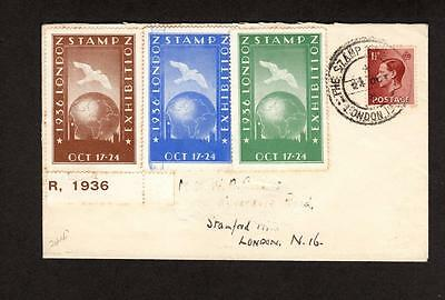 1936 Stamp Exhibition Cover