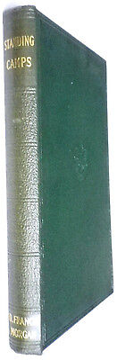 Standing Camps-Morgan-Vintage H/bk-1938-Scout Book Club-Great Condition!!!