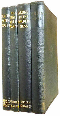 SCOUT BOOK CLUB-VINTAGE H/BKS x4-1938/9-GREAT CONDITION!!!