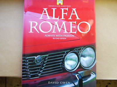 Alfa Romeo - Always With Passion 2nd Edition - Haynes Classic Makes Series