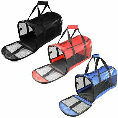 Dog Cat Pet Puppy Fabric Portable Carrier Folding Crate Travel Kennel Bag Cage