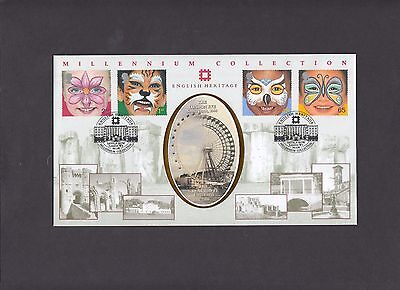 2001 The Future English Heritage Benham Official First Day Cover