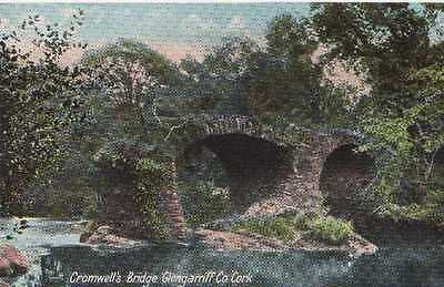 Vintage Postcard Cromwell's Bridge Glengarriff Co. Cork Unposted
