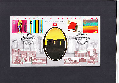 1999 Artists Tale English Heritage Benham Official First Day Cover