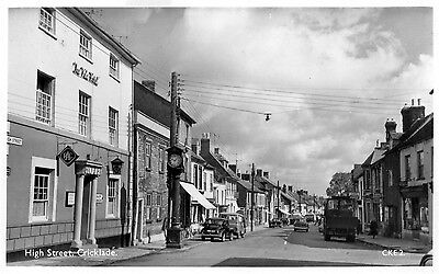 CRICKLADE WILTSHIRE - HIGH St. Real Photo