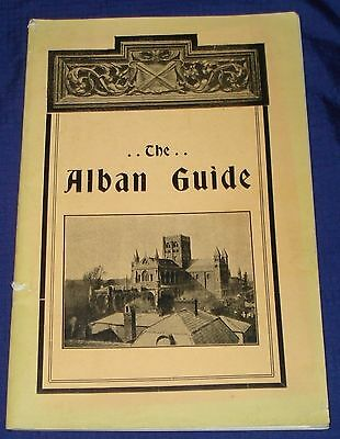 KM450 Vtg St. Albans Cathedral & Abby Travel Guide 1926