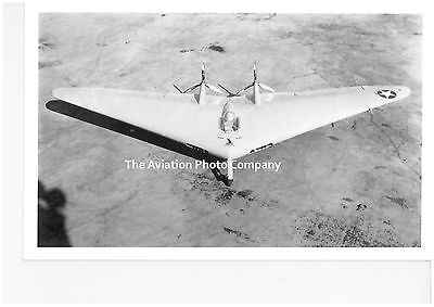 US Air Force Northrop Flying Wing Vintage Photograph