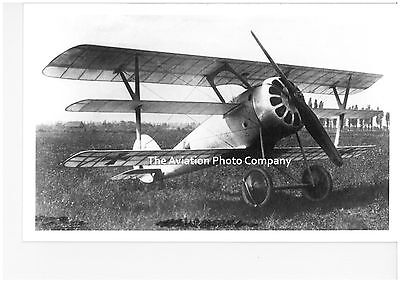German Air Force Tri Plane Vintage Photograph