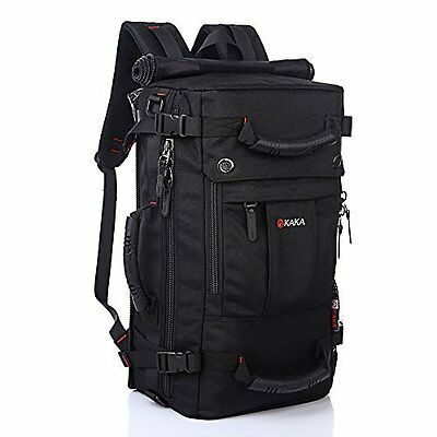 Laptop Backpack with waterproof lining for 17 Inch Laptops - Black Topselling