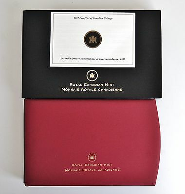 2007 Canada Proof Coin Set w/Selectively Gold Plated Thayendanegea Silver Dollar