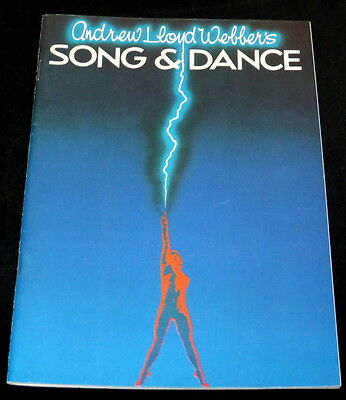 Programme Palace Theatre Manchester - Song & Dance 1984 - Marti Webb - Exc Cond