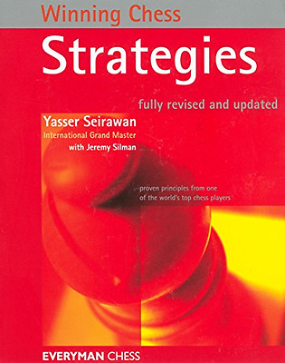 Winning Chess Strategies (Winning Chess Series) - Paperback NEW Yasser Seirawan