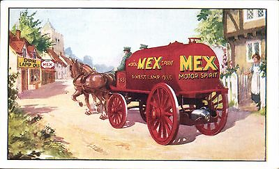 Advertising. Anglo-Mexican Petroleum Co, Brockenhurst. Mex Motor Spirit.
