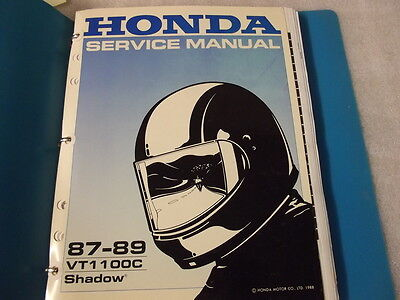 Honda Vt1100C Shadow 87-89 Service Manual 14