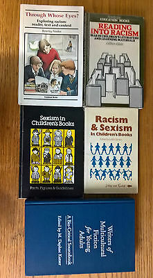 5 books children's literature criticism on racism, sexism, multiculturalism