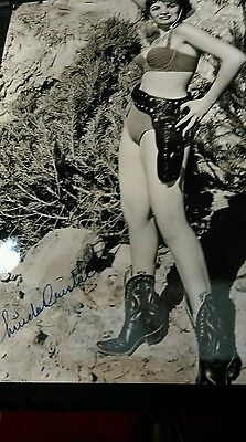Autograph 10x8 photo signed by Linda Cristal
