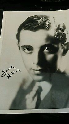 Autograph 10x8 photo sigbed by Larry Adler