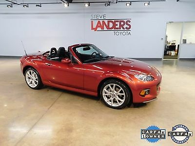 2015 Mazda MX-5 Miata Grand Touring VERY LOW MILES HARD TOP CONVERTIBLE HEATED LEATHER CLEAN CARFAX CALL NOW FINANCE