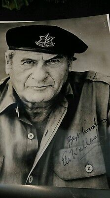 Autograph 10x8 photo signed by Eli Wallach