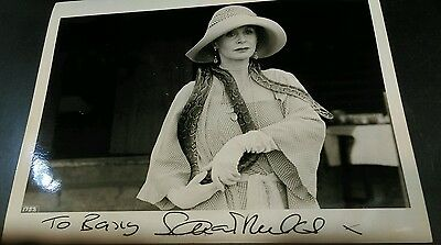 Autograph 10x8 photo signed by Sarah Miles