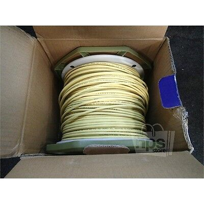 Honeywell 63612102 Cat 6 Cable, 1000ft Box, 23AWG, Yellow*