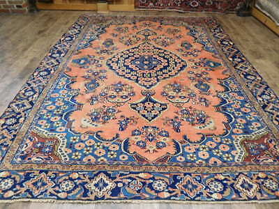 Ca1910s VG DY ANTIQUE PERSIAN VISS KARACHEH SERAPI HERIZ 7x10 ESTATE SALE RUG