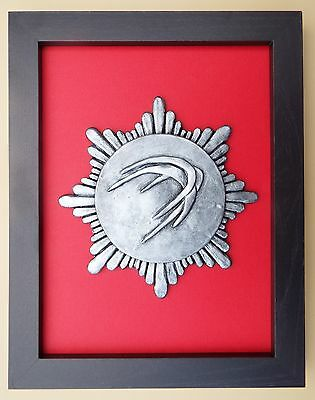 Large Scale Framed BLACKBUSHE AIRPORT FIRE SERVICE Badge Plaque