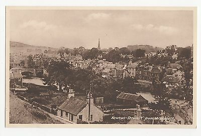 Scotland, Newton Stewart, From Minnigaff Postcard, A384