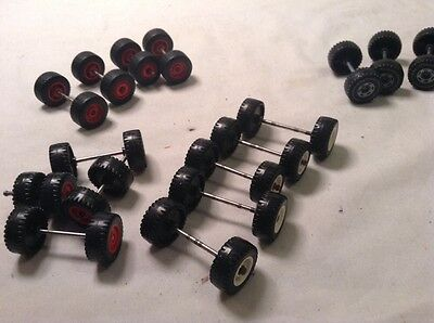 1/50th scale assorted wheels & axles, Ideal for the Code 3 modeller.
