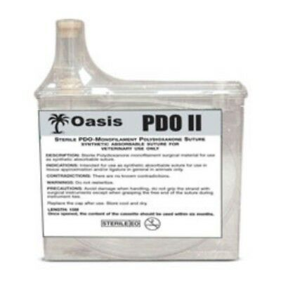 Oasis PDO 3-0 Suture Cassette, 15 Meters, Synthetic Absorbable, Veterinary Use