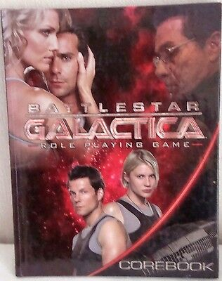 BATTLESTAR GALACTICA ROLE PLAYING GAME COREBOOK RARE out of print book