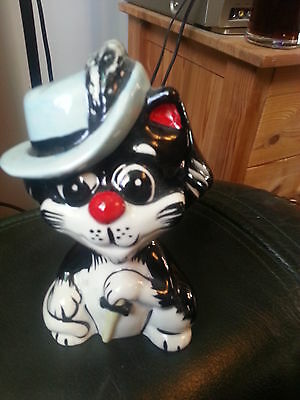 LORNA BAILEY PUSKETEER cat Excellent Condition FREE P&P  %