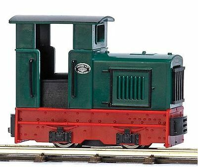 Busch 12113 HOn2 Painted & Unlettered Gmeinder 15/18 w/Roofed Cab