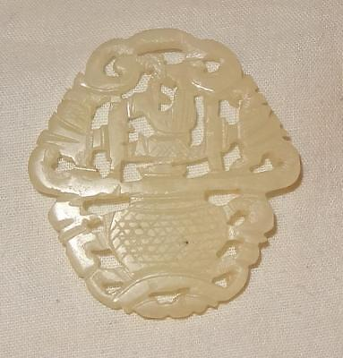Antique Jade Chinese Carving - Interesting Provenance