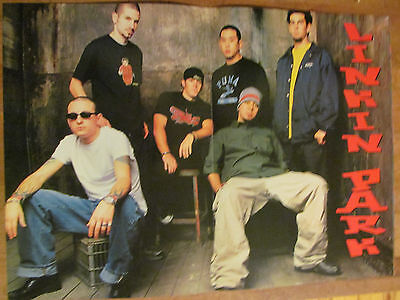 Linkin Park, Two Page Vintage Centerfold Poster