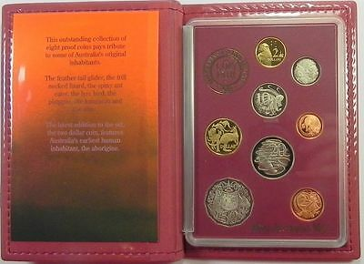 AUSTRALIA 1989 Feather Tail Glider, PROOF COIN SET  !!!!!