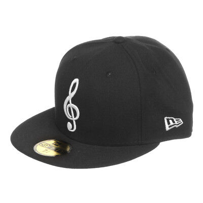 New Era - Note 59fifty Cap Black / White Fitted Cap Mütze