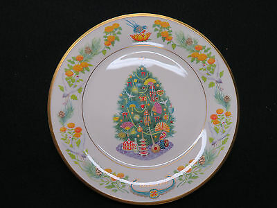 """Lenox Annual Collector's Plate - 2006 """"Christmas Trees Around the World - Japan"""""""