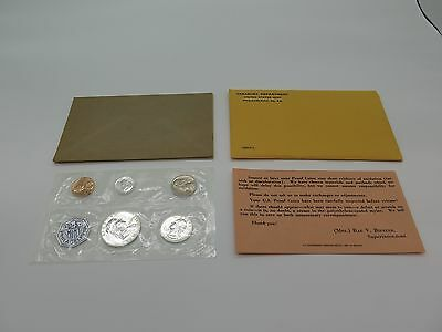 American Proof Set 1960 With Certificate