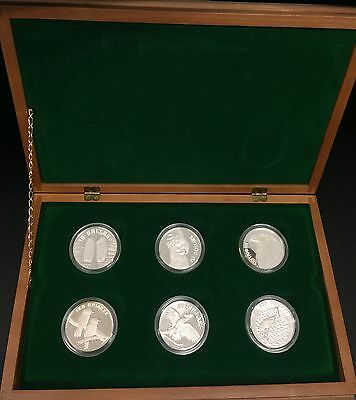Australia 1989-1994 $10 Silver Standard Proof The Birds of Australia 6 coin set
