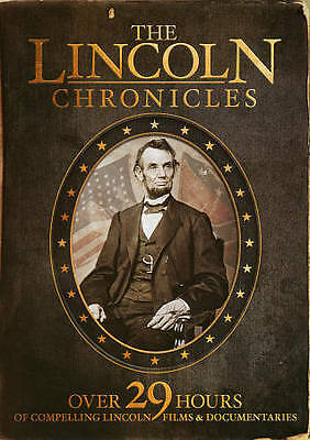 The Lincoln Chronicles (DVD, 2013, 10-Disc Set) - NEW!!
