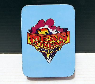 MEAN STREAK American Coaster Enthusiast PLAYING CARDS Cedar Point Amusement Park