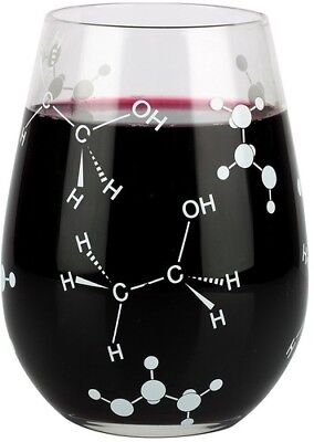 Barbuzzo Chemist Approved - Stemless Wine Glass