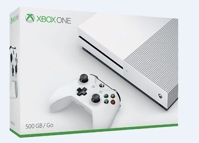 Microsoft Xbox One S 500GB Console: White - Halo Collection Bundle [New Xbox One