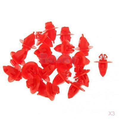 60x For Toyota 90904-67037 Moulding Clip Highlander Tacoma 12 x8mm Plastic