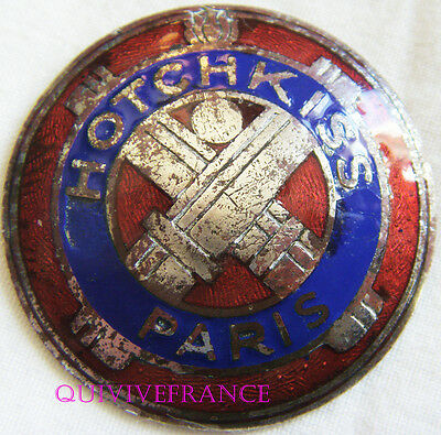 Badge De Calandre Hotchkiss