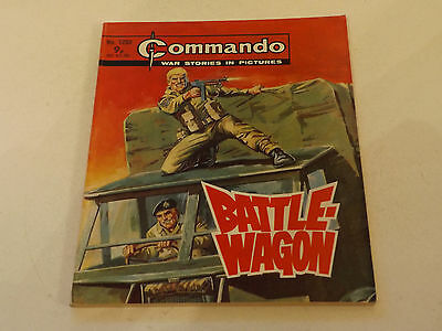 Commando War Comic Number 1203!!,1978 Issue,good For Age,39 Years Old,v Rare.