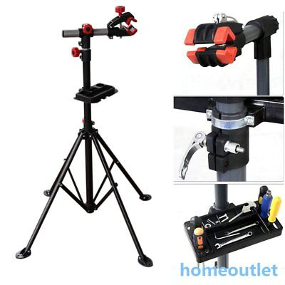 Red Heavy Duty Home Mechanic Bike Bicycle Cycle Workstand Repair Stand Uk